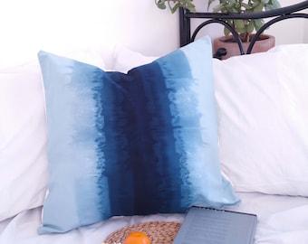Ombre Cushion Cover, Boho, Ombre Dip Dye Pillow, Boho Chic, Bohemian, Throw Pillow