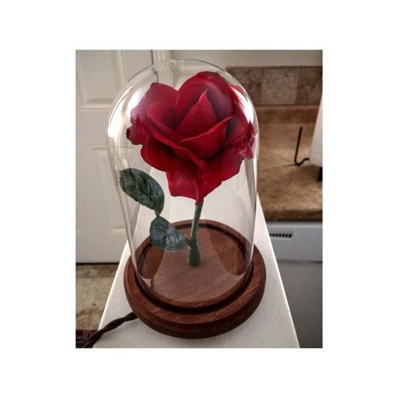 die belle verzauberte rose beauty und beast stil. Black Bedroom Furniture Sets. Home Design Ideas