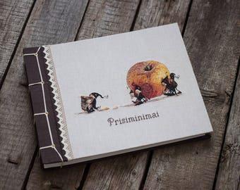Photo album - Scrapbook album -Personalized photo album - hygge photo album- Custom album - rustic book