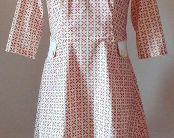 Vintage style cotton dress