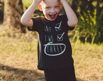 Boys 3rd birthday shirt,   3rd birthday shirt, boys birthday shirt, girls birthday shirt, unisex birthday shirt