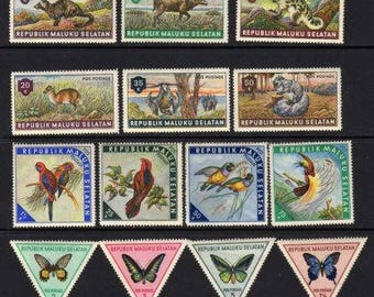 Animal Stamps, Bird Stamps, Fish Stamps,Unused Stamps, Stamps,Postage Stamps, Butterfly Stamps,Stamp Collection, Triangular Stamps