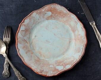 Handmade ceramic platter
