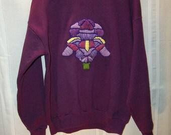 Iris Embroidered Sweatshirt