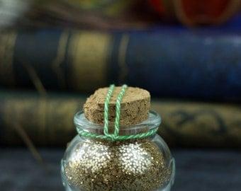 Cleric Symbol Gold Pixie Glitter Bottles For Art, Craft & Shenanigans