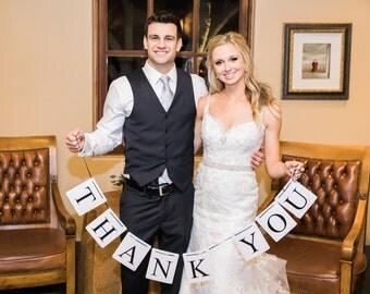 THANK YOU Wedding Photo Prop