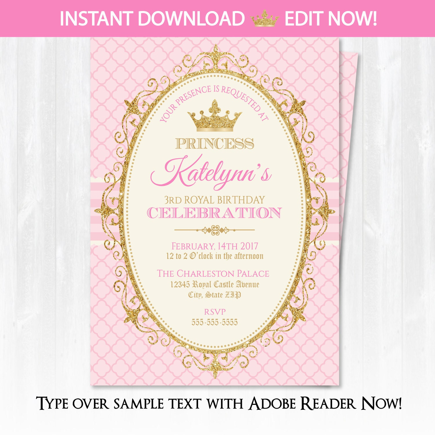 Princess Themed Birthday Party Invitations is great invitation design