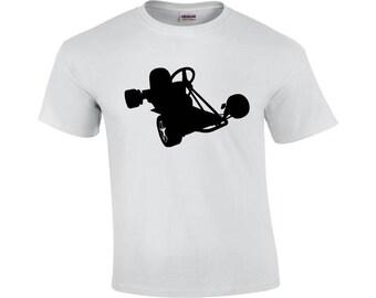 Go Kart   Go Kart T-shirt   Cool T-shirt   Men's T-shirt   Go Kart Graphic Tee   Shirt For Go Kart Drivers