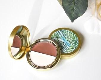 All natural contour kit, cream contour, organic makeup palette, bath and beauty