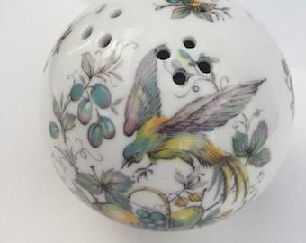 SALE! Roy Kirkham Vintage Bone China Pomander Ball Staffordshire England