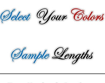 Sample Length of Paracord (Select your colors - up to 10) 550 Parachute Cord