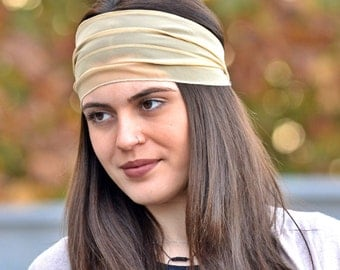 Unique Headbands, Chiffon Headband, Head Wrap, Elegant Headbands, Wide Headband, Womens Turban, Turban Headband, Womens Headbands, Headbands