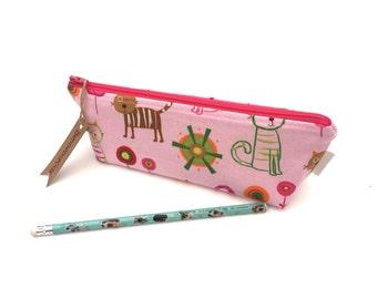 Pencil Case - Girls Make-Up Bag - School Supplies - Zipper Pouch - Gift For Teen Girls - Children's Gift - Gadget Holder - Accessory Case