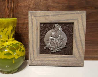 Unique Sculpted and Framed Animal Dials (Butterfly)