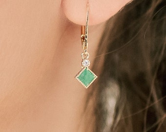 Ggeen Zircon Earrings, Ggeen Earrings, Zircon Earrings,
