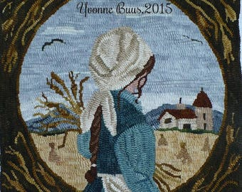 "Pattern: Rug Hooking Pattern ""Harvest Blessings"" by Vintage Heart Rug Design (Yvonne Buus)"