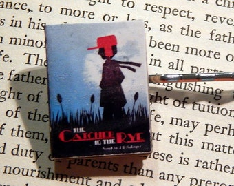The Catcher in the Rye Book Hair Pin