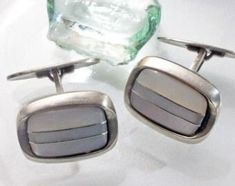 Vintage cufflinks 50s, 60s
