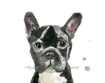 Pet Portrait, Dog Portrait, Pet Portraits, Pet Watercolor, Pet Watercolour, Dog Painting, Pet Painting, Illustration, Custom Pet Painting