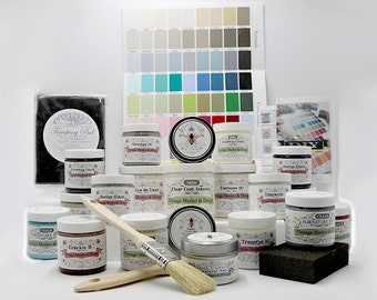 FREE SHIPPING!! VM&D Furniture Paint and Finishing Products Sample Package