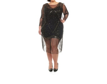 20s plus size dress | etsy