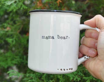 Mama bear mug coffee mug mom mug gift for mom papa bear mug baby shower gift mom gift new mom gift mama bear cup mothers day gift mama bear