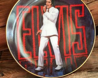 "Elvis, Collector plate,  Nostalgia, Collectibles,  Don't Be Cruel, 6 1/2"" Wide, Elvis Presley Souvenir plate,"