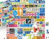 Transit Graphics 1000 Piece Puzzle