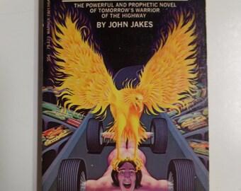 On Wheels by John Jakes Warner Books 1973 Vintage Sci-Fi Paperback