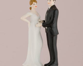 pregnant wedding cake toppers etsy 18719