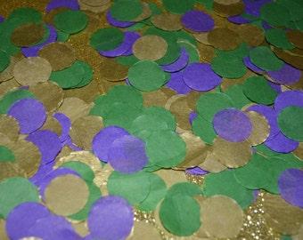 """3/4"""" Mardi Gras Confetti"""