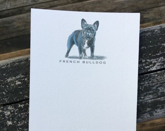 French Bulldog Note Card Set