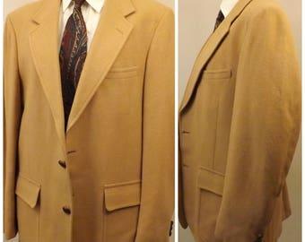 80s Vintage Men's Woolrich Wool Sport Coat Size 40R