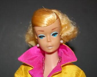 Vintage Blonde Barbie Swirl doll Original no retouches Ponytail Excellent