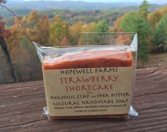 Strawberry Shortcake Soap
