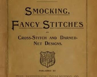 Vintage Smocking, Fancy Stitches, and Cross Stitch