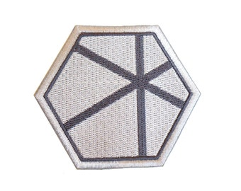 Star Wars Imperial Science Officer Patch - Death Star Engineer Patch - Rogue One Patch - Fully Embroidered