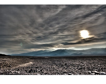 Exoplanet, Death Valley, Desert, Landscape, Travel, Giclée Print, Archival, Photograph, Color