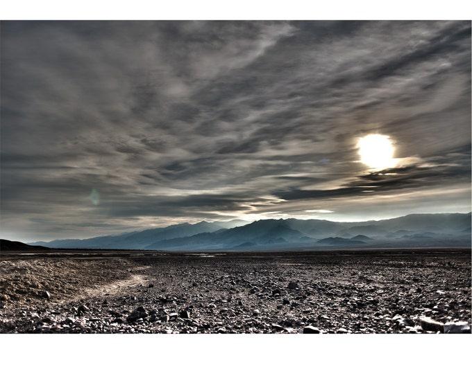 Featured listing image: Exoplanet, Death Valley, Desert, Landscape, Travel, Giclée Print, Archival, Photograph, Color
