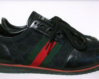 vintage 1984 gucci tennis sneakers SZ 8.5