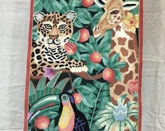 Wildlife rug