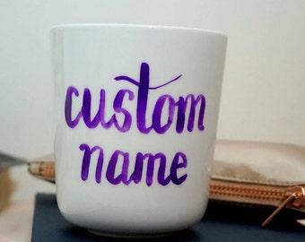 Handpainted Mug - Custom Name/Design