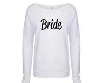 Bride Sweatshirt, Future Mrs Shirt, Bride to Be Sweatshirt, Long sleeve shirt,