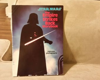 Star Wars Empire strikes back storybook, vintage star wars, star wars collectables