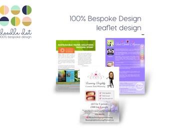 Leaflet design, flyer design, design service, promotional design, small business branding, Poster design, Event design, Vector graphic,
