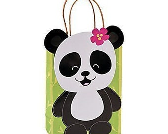 My Sweet Panda Party Favor bags / Panda theme /Panda party / Favor bags / treat bags