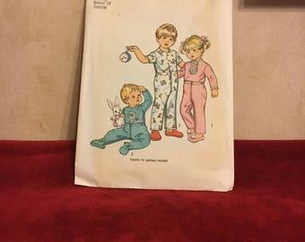 Children's Pajama Pattern