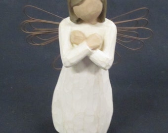SIGN FOR LOVE  Willow Tree Angel