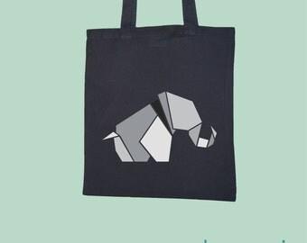 Elephant / bag / canvas bag / cotton