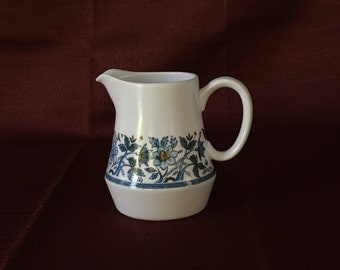 Noritake Progression China | Blue Moon | Creamer | Item 9022 | Made in Japan